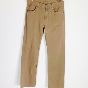 7 FOR ALL MANKIND Austyn Khaki Chino Pants 32